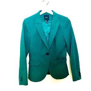 Forever 21 GreenBlue Blazer